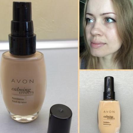 Тональный крем Avon: Спокойное сияние - и - Легкость, True, Mark и Color Trend, отзывы