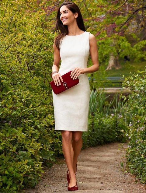 С чем носить белое платье, образы звезд и с какими аксессуарами ...   634x480