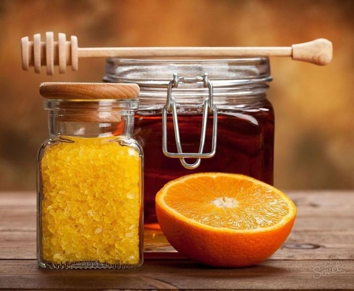Скраб из мёда в домашних условиях