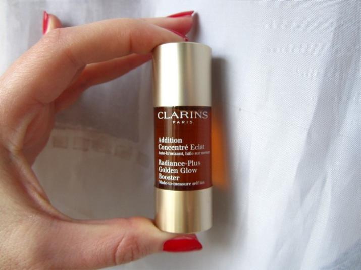 Автозагар Clarins: отзывы о концентрате и каплях для лица и тела Radiance-Plus Golden Glow Booster