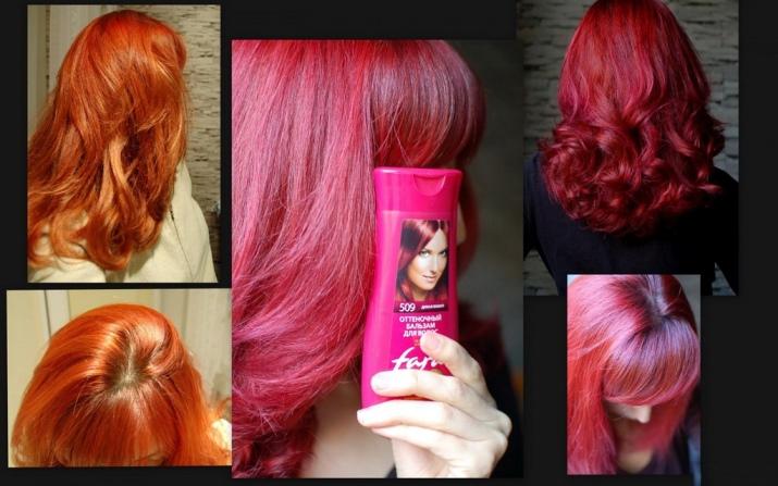 Покрасить волосы после тоника