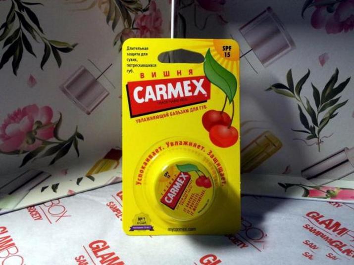 Бальзам для губ Carmex: состав американского классического средства Вишня, отзывы