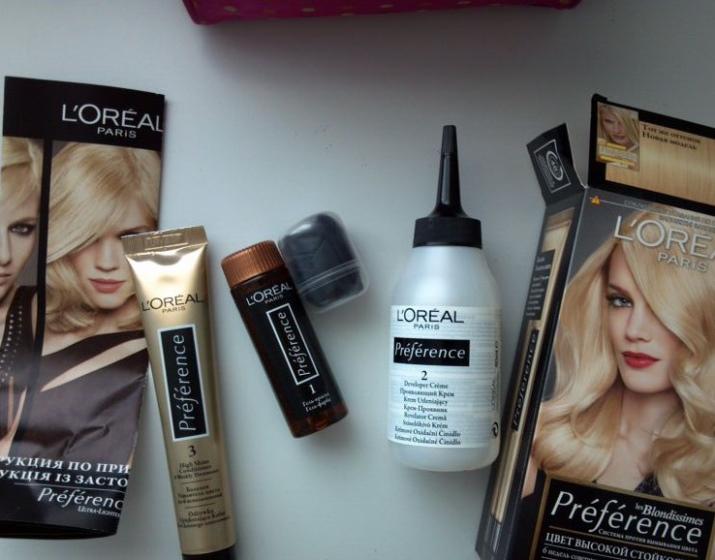 Бальзам для волос L; Oreal Paris: линии Preference и Elseve, Excellence и 6 масел для окрашенных локонов, отзывы