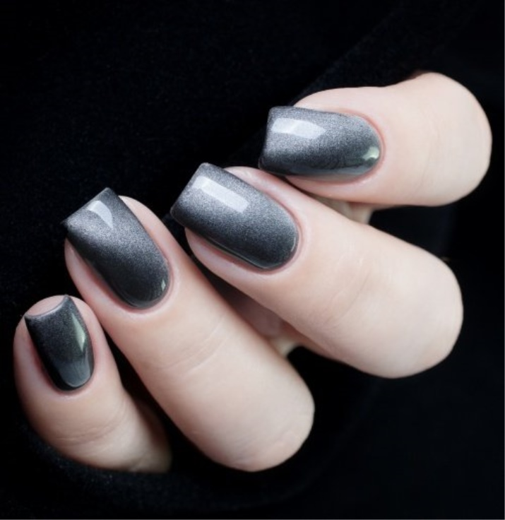 Голографический лак для ногтей (16 фото): маникюр с гель-лаком голографик