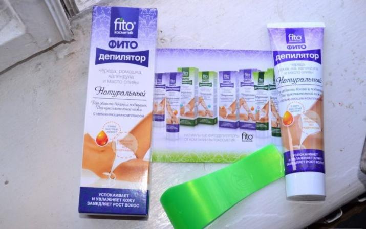 Крем-депилятор Fito: средства для депиляции тела от Fito Сosmetic, серия Fito Depilation, отзывы