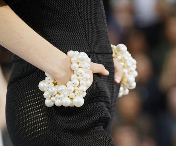 Браслет из жемчуга (52 фото): украшения из натурального черного жемчуга De Fleur