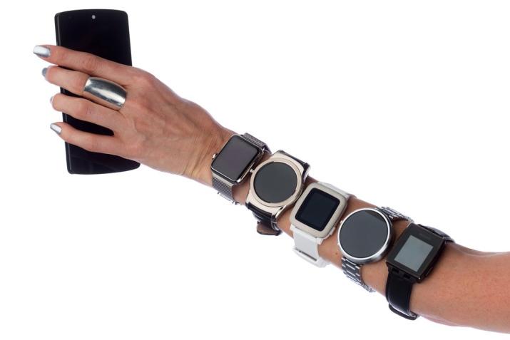 электронные наручные часы женские 5