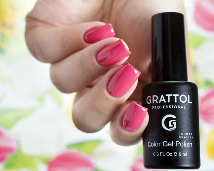 Гель лак Grattol: официальный представитель из Германии, палитра цветов, отзывы