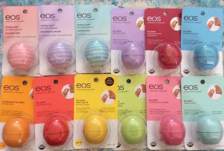 Гигиеническая помада EOS: вкусы круглой помады, отзывы