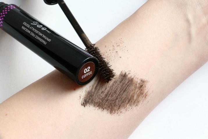 Коричневая тушь для ресниц (31 фото): кому подходит темно-коричневый цвет, средство для объема; Expresso, отзывы