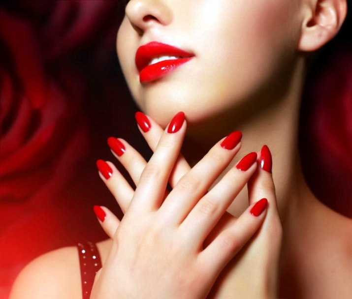 Как рисовать губы на ногтях: инструкция и фото 88