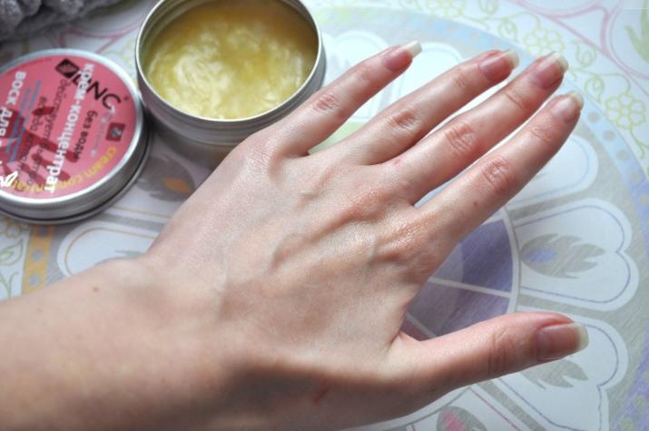 Как сделать воск для рук в домашних условиях