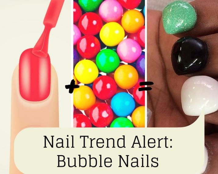 Бабл-маникюр (30 фото): что это и как делать; Buble Gum.