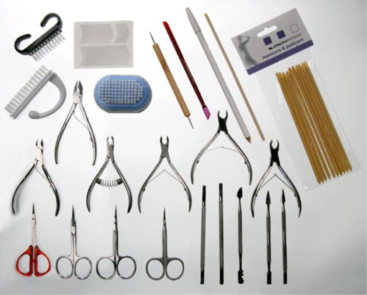 фото инструменты для педикюра