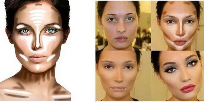 Как уменьшить картошку макияжем