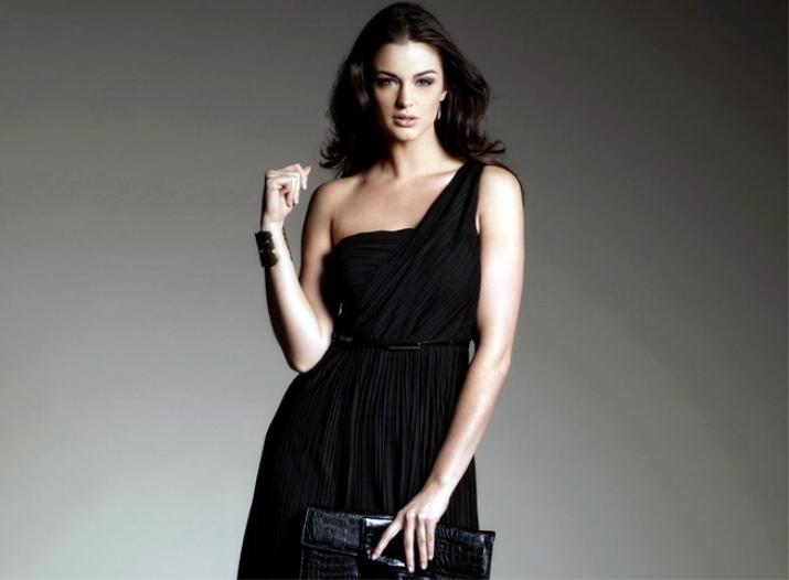Макияж под черный цвет платье