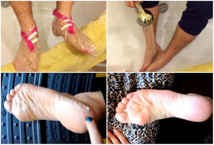 Как сделать носочки для педикюра своими руками 84