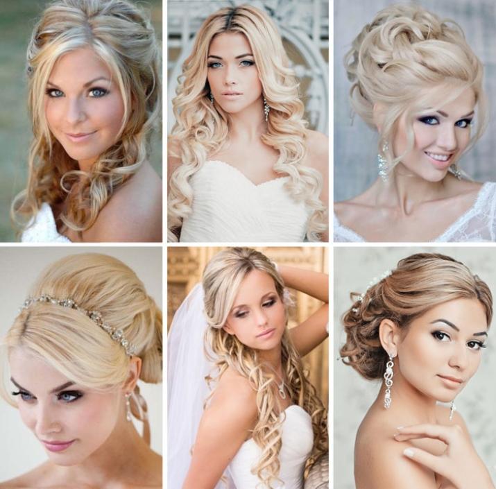 Свадебный макияж для блондинок (31 фото): красивый make-up на свадьбу для невесты с серыми глазами, яркий или нежный