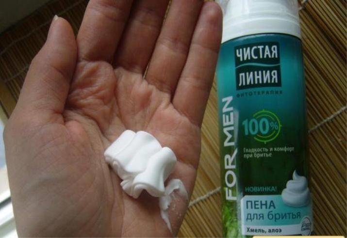 Как сделать своими руками пену для бритья 189