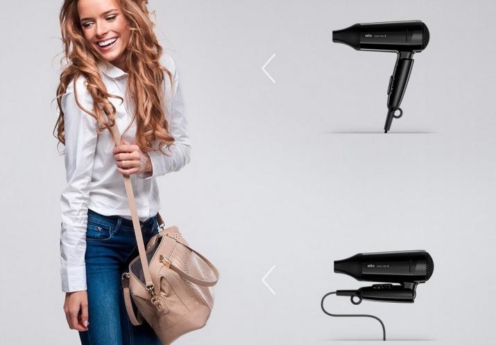 Дорожные фены: лучшие складные модели 2022, маленький вариант со складной ручкой, мощный прибор для сушки волос размера мини, отзывы