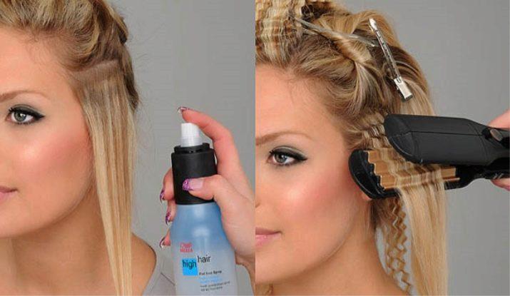 Способы укладки волос в домашних условиях
