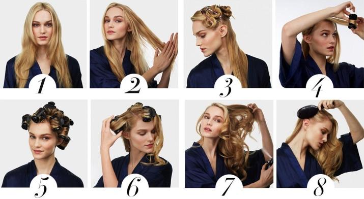 Как выбрать бигуди для длинных волос фото