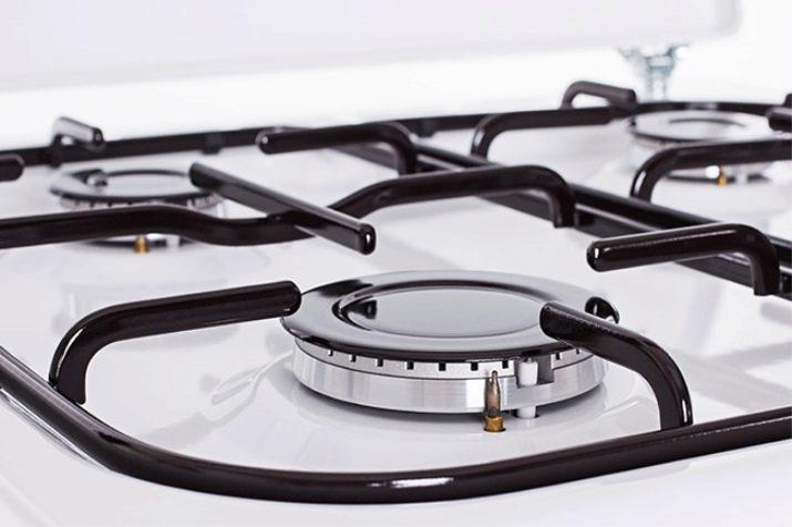 Как отмыть газовую плиту от жира? Как почистить в домашних условиях конфорки электрической плиты, чем оттереть пятна с поверхности