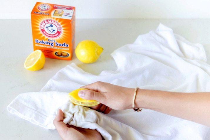 Как вывести пятно от ржавчины с белой футболки фото